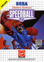 Speedball 2 SMS box art