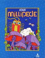 Millipede arcade flyer