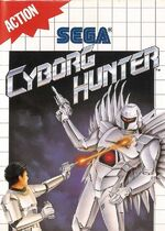 Cyborg Hunter SMS box art