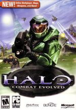 Halo Combat Evolved box art (PC)