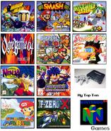 Top ten n64
