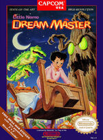 Little Nemo The Dream Master NES cover