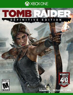 Tomb Raider Definitive Edition Xbox One cover