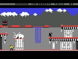 C64 BruceLee screen