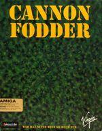 Cannon Fodder Amiga cover