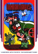 Mario Bros arcade flyer
