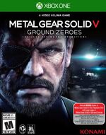 Metal Gear Solid V Ground Zeroes Xbox One cover