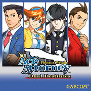 Ace Attorney 5 cover