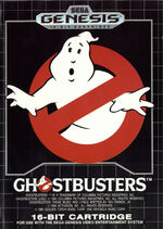 Ghostbusters Mega Drive cover