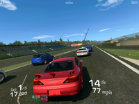 Real Racing 3 Blackberry screenshot
