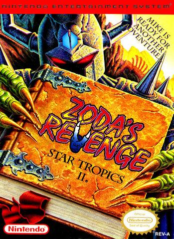 File:StarTropics 2 Zodas Revenge NES cover.jpg