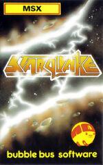 Starquake MSX cover