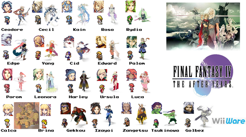 FF4TAY Characters
