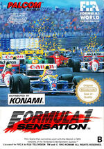 Formula 1 Sensation NES cover