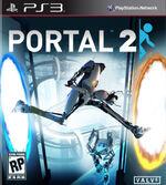 Portal 2 ps3 cover