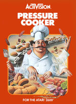 Atari 2600 Pressure Cooker box art