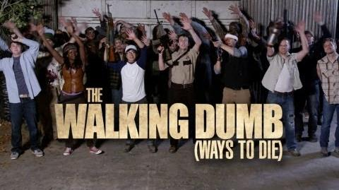 The Walking Dead Dumb Ways to Die Parody - The Walking Dumb