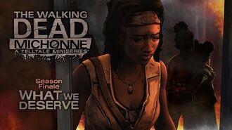 The Walking Dead Michonne - Finale Trailer