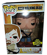 "9"" Bloody Daryl Dixon - Toy Tokyo Sticker"