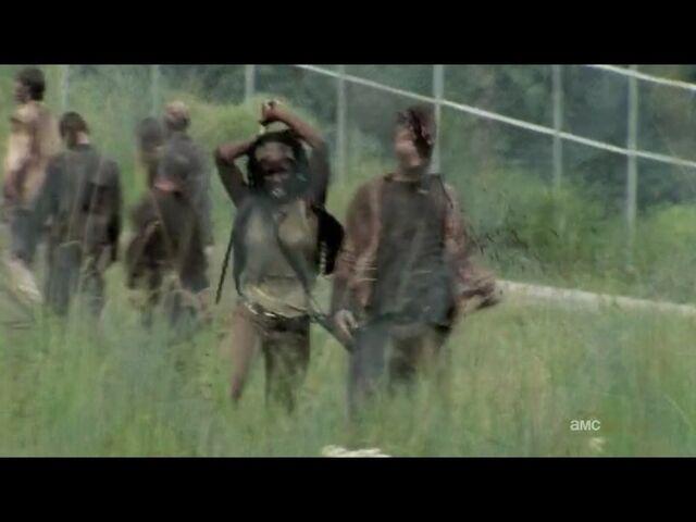 File:Michonne heads for Hershel.jpg