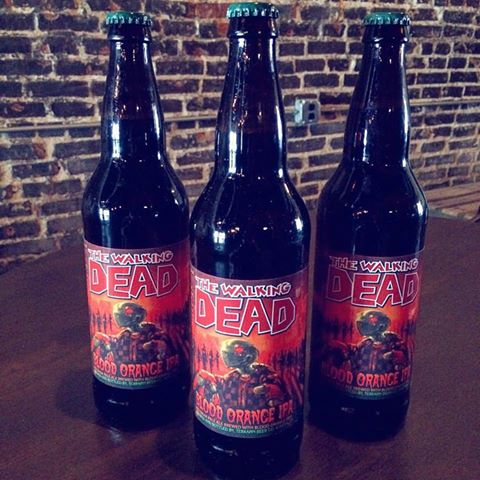 File:The Walking Dead- Blood Orange IPA bottles 2.jpg