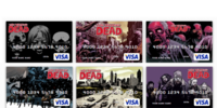 The Walking Dead Debit Cards
