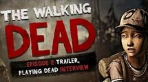The Walking Dead The Game - Season 2 Episode 2 Trailer, Scott Porter Interview - Playing Dead ...