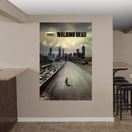 Fathead wall decals walking dead wiki fandom powered for Mural walking dead