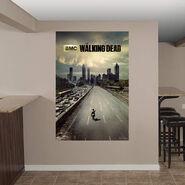Fathead wall decals walking dead wiki fandom powered for Mural walking dead