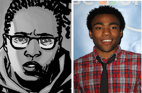 Donald glover as heath
