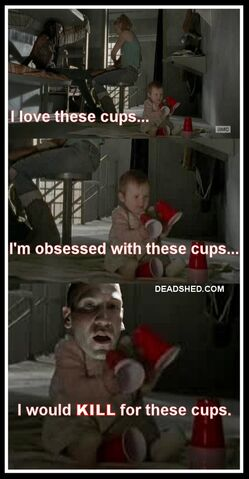 File:The Walking Dead Season 4 Meme Judith Cups Shane 4x02 DeadShed.jpg