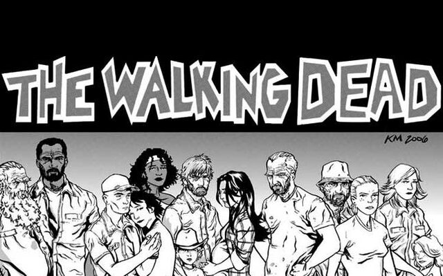 File:Walking dead comic series cast.jpg