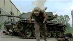Daryl vs Tank