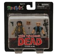 Walking Dead Minimates Series 4 Governor & Bruce 2-PK