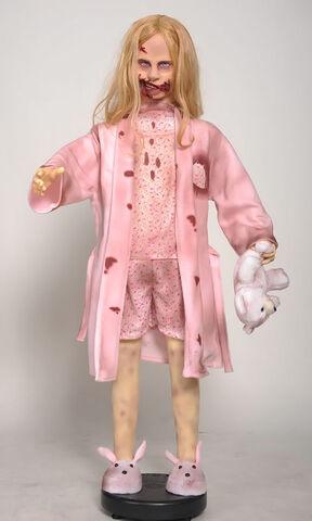 File:The Walking Dead Life-Size Statue Teddy Bear Girl.jpg