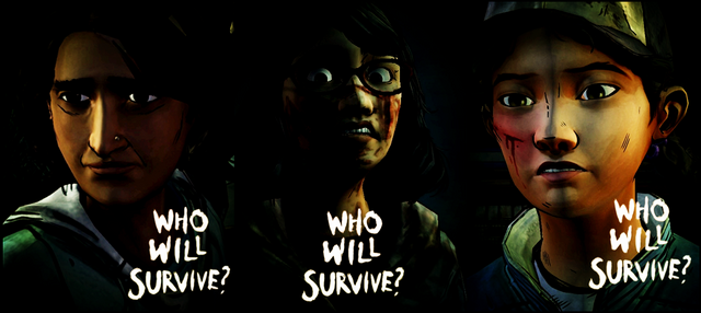 File:Sarita Sarah Clementine WhoWillSurvive Promo Banner ATR2 by BernadusAndrew.png
