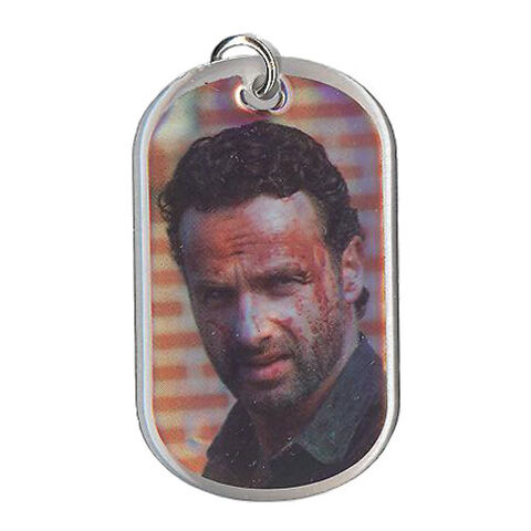 File:The Walking Dead - Dog Tag (Season 2) - RICK GRIMES 13 (Foil Version).jpg