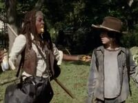 Michonne - cheese pirate