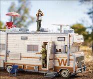 Dale's RV (The Walking Dead TV) McFarlane Building Set
