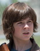 Season four carl grimes