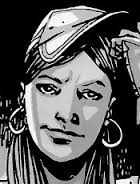 Walking dead comic rosita