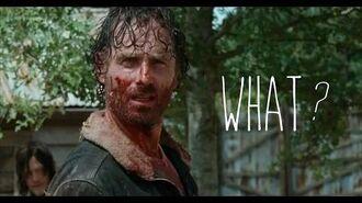 "The Walking Dead - 6x11 ""Knots Untie"" Rick kills Ethan HD"