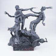 The Walking Dead Comic- Rick Grimes Resin Statue (Unpainted Artist's Proof)