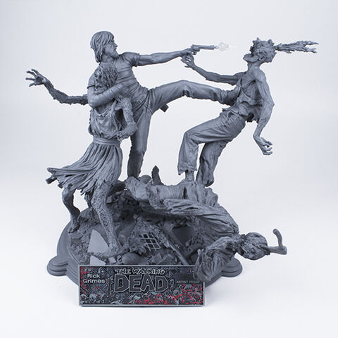 File:The Walking Dead Comic- Rick Grimes Resin Statue (Unpainted Artist's Proof).jpg
