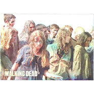 The Walking Dead - Sticker (Season 2) - S11 (Foil Version)