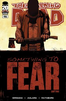 The Walking Dead -98 Cover