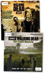 The Walking Dead scratch games (Rhode Island)