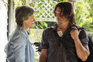 Daryl and Carol talk new best friends 710