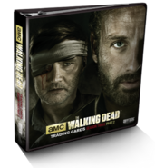 The Walking Dead Season 3 Trading Cards Part 2 Binder