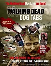 Walking Dead Tog Tags